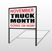 Truck Month 118 H-Frame Sign