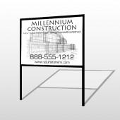 Builder 36 H Frame Sign