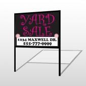 Pink Girl Sale 552 H-Frame Sign