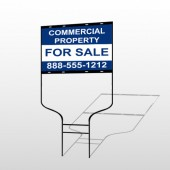 Commercial 3 Round Rod Sign