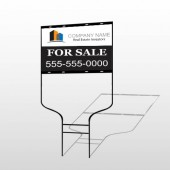Real Estate Investors 101 Round Rod Sign