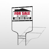 Sale By Owner 29 Round Rod Sign