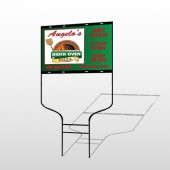 Pizza 129 Round Rod Sign