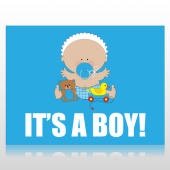 It's A Boy  Sign Panel