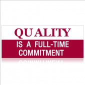 Quality Is A Commitment