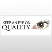 Keep An Eye On Quality Custom Banner