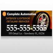 Detailing Services 115 Custom Banner