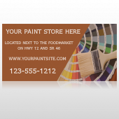 Paint Brushes 256 Custom Sign