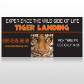 Tiger Landing 303 Custom Sign