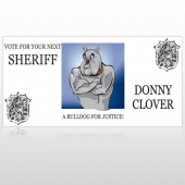 Vote Sheriff Dog 269 Custom Sign