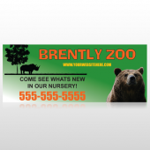 Bear Zoo 302 Custom Banner