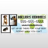 Dog Kennels 300 Custom Banner