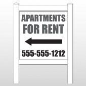 "Apartments 506 48""H x 48""W Site Sign"