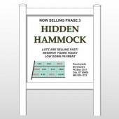"""Hidden 438 48""""H x 48""""W Site Sign"""