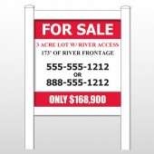 "River 440 48""H x 48""W Site Sign"