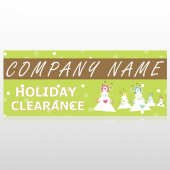 Holiday Clearance 13 Site Sign