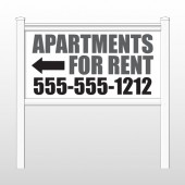 "Apartments 506 48""H x 96""W Site Sign"
