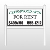 "Greenwood 467 48""H x 96""W Site Sign"