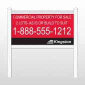 "Kingston 459 48""H x 96""W Site Sign"