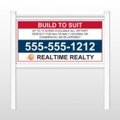 "Realtime 498 48""H x 96""W Site Sign"