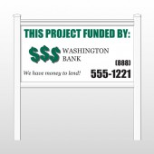 "Washington 477 48""H x 96""W Site Sign"