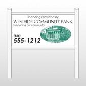 """Westside 452 48""""H x 96""""W Site Sign"""
