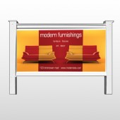 "Art Furnishing 535 48""H x 96""W Site Sign"
