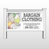 """Bargain Bin 532 48""""H x 96""""W Site Sign"""