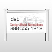 "Builder 35 48""H x 96""W Site Sign"