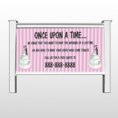 "Cake Topper 412 48""Hx96""W Site Sign"