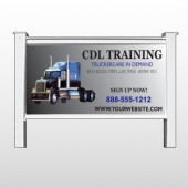"CDL Training 155 48""H x 96""W Site Sign"