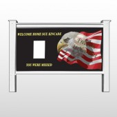 "Eagle Flag 307 48""H x 96""W Site Sign"