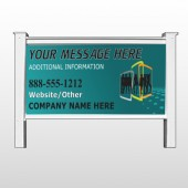 "Fashion Models 180 48""H x 96""W Site Sign"