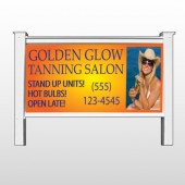 "Golden Glow 491 48""H x 96""W Site Sign"