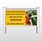"Healthy Tomato 404 48""H x 96""W Site Sign"