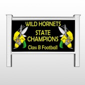 "Hornet 44 48""H x 96""W Site Sign"