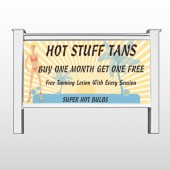 "Hot Beach Tan 299 48""H x 96""W Site Sign"
