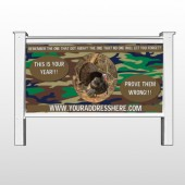 "Hunt Turkey 409 48""H x 96""W Site Sign"