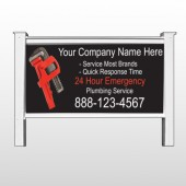"Monkey Wrench 257 48""H x 96""W Site Sign"