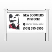 "New Scooter 100 - 48""H x 96""W Site Sign"