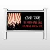 "Night Club 523 48""H x 96""W Site Sign"