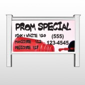 "Pink Polish 486 48""H x 96""W Site Sign"