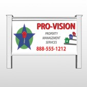 "Property Management 363 48""H x 96""W Site Sign"