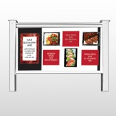 "Restaurant Specials 370 48""H x 96""W Site Sign"