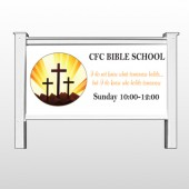 "Shining Cross 161 48""H x 96""W Site Sign"