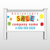 "Square Circle Sale 15 48""H x 96""W Site Sign"