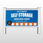 "Storage Building 120 48""H x 96""W Site Sign"
