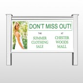 "Summer Sale 533 48""H x 96""W Site Sign"