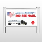 "Tanker Truck 315 48""H x 96""W Site Sign"