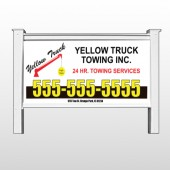"Towing 125 48""H x 96""W Site Sign"